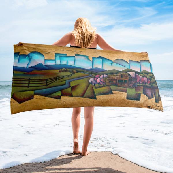 Towel (Cherry Blossom in Shenandoah)