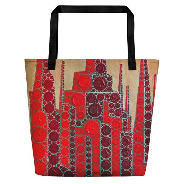 Beach Bag (Red Babylon)