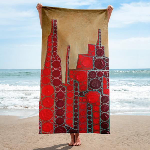 Towel (Red Babylon)