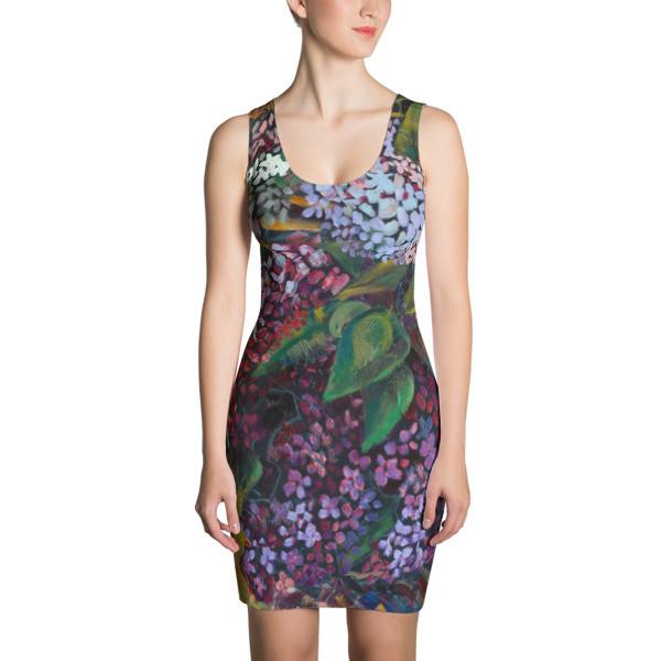 Cut & Sew Dress (Lilaс)