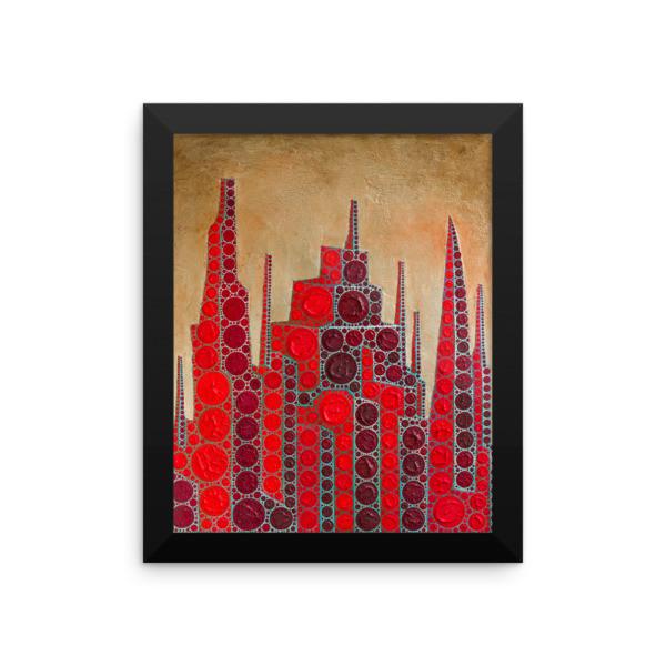 Red Babylon (Framed poster)