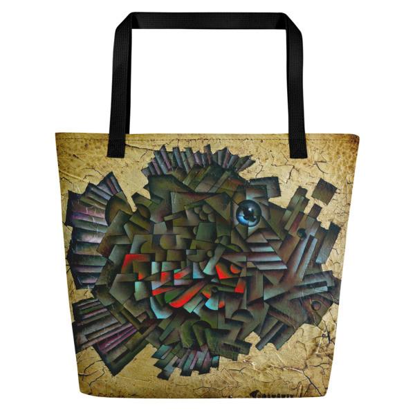 Pisces Fish (Beach Bag)