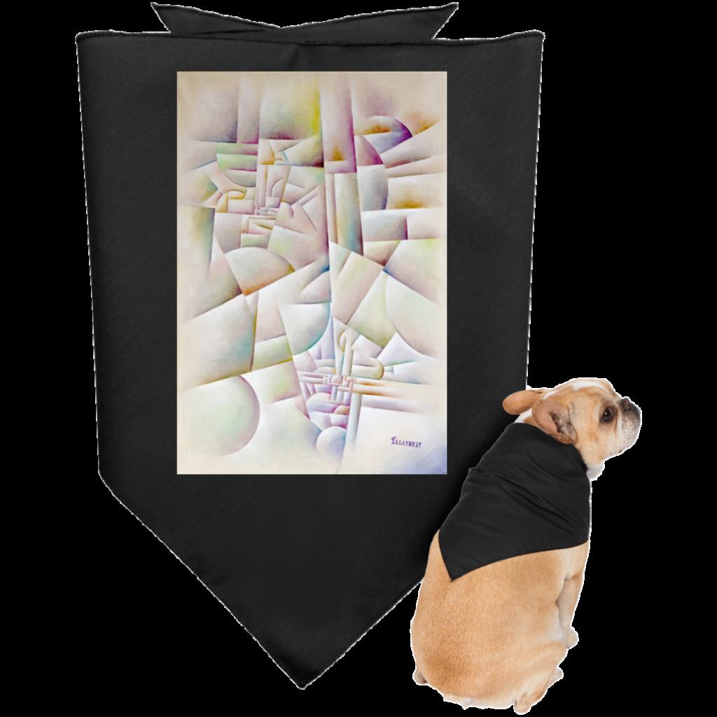 Doggie Bandana (Urban Landscape)