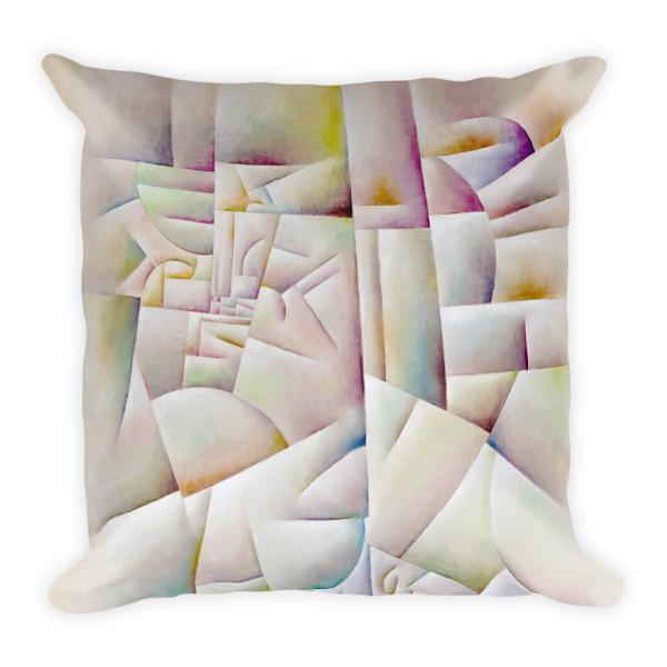 Urban Landscape (Square Pillow)