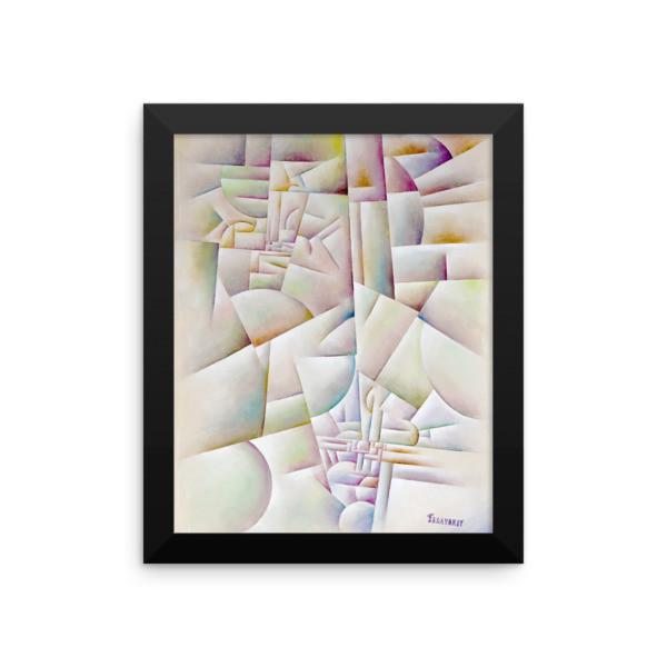Framed poster (Urban Landscape)