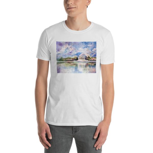Short-Sleeve Unisex T-Shirt (Jefferson Memorial)