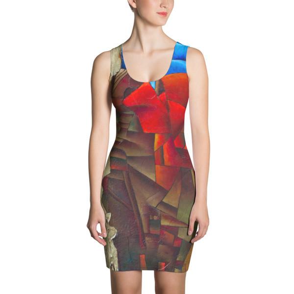Cut & Sew Dress (Wisconsin Avenue, Washington, DC)