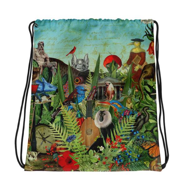 Drawstring bag (Flora and Fauna)