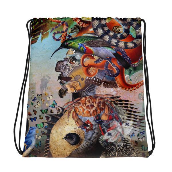 Drawstring bag (Fauna)