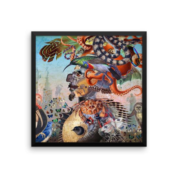 Framed poster (Fauna)