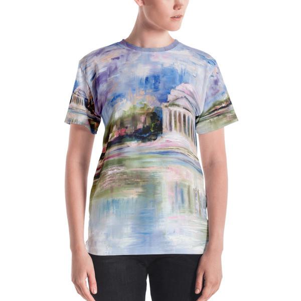 Women's T-shirt (Jefferson Memorial)