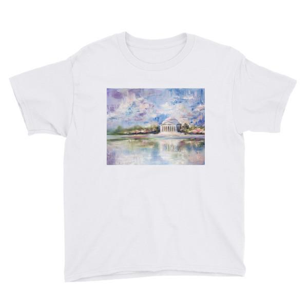 Youth Short Sleeve T-Shirt (Jefferson Memorial)