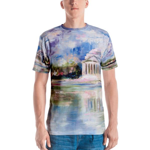 Men's T-shirt (Jefferson Memorial)