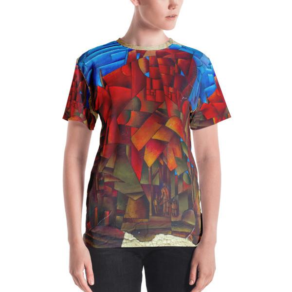 Women's T-shirt (Wisconsin Avenue, Washington, DC)