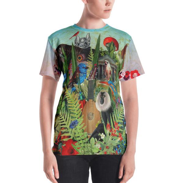 Women's T-shirt (Flora and Fauna)