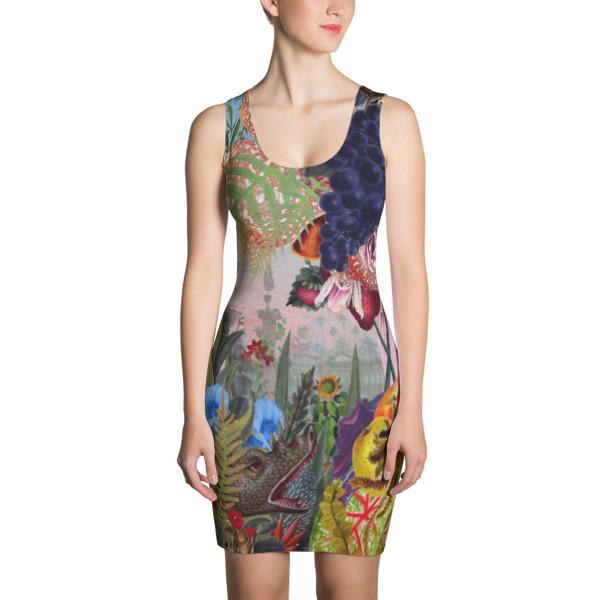 Sublimation Cut & Sew Dress (Flora)