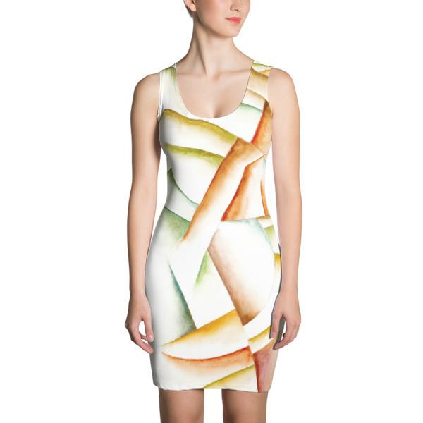 Sublimation Cut & Sew Dress (Faun)