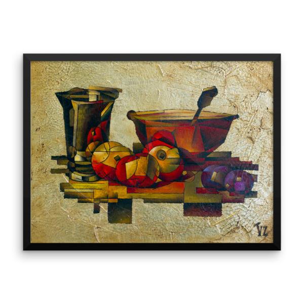 Framed poster (Still Life with Apples)