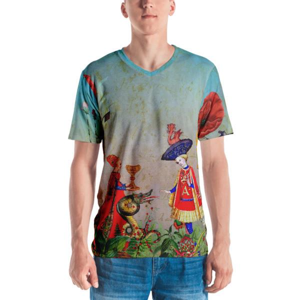 Men's T-shirt (Flora and Fauna)