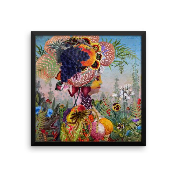 Framed poster (Flora)