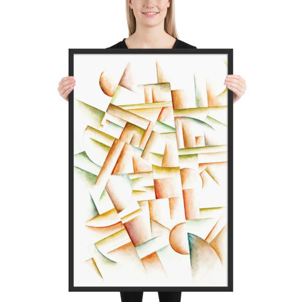 Framed poster (Faun)