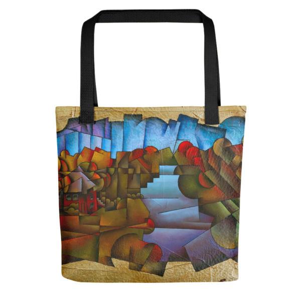 Tote bag (Shenandoah River Cabin)