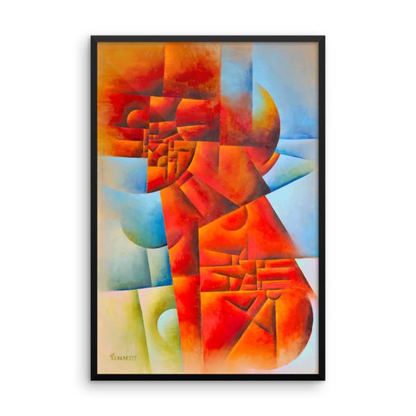 Framed poster (Red Lion)