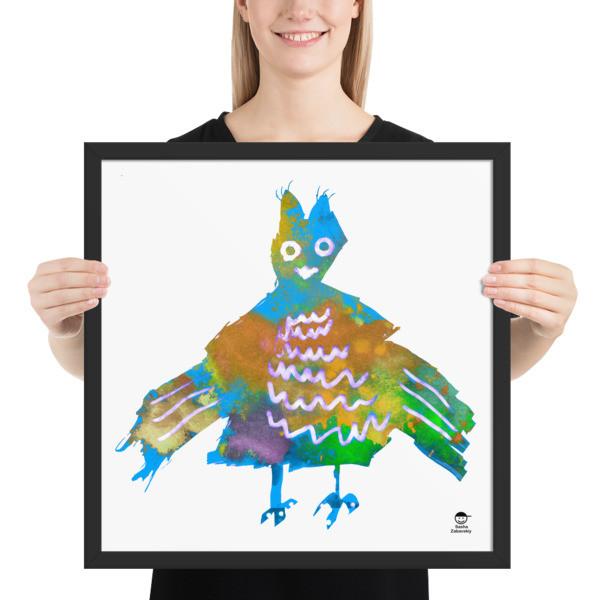 Framed poster (Blue Phoenix)