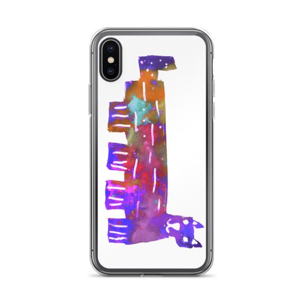 iPhone Case (Colorful Cat)