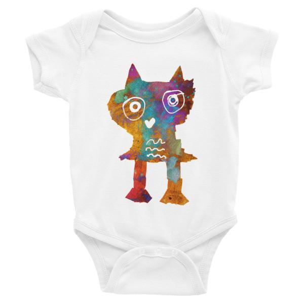 Infant Bodysuit (Owl)