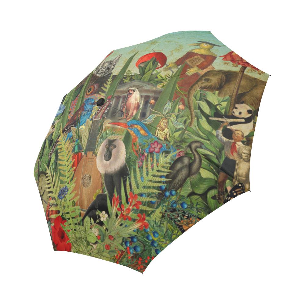 Automatic Foldable Umbrella (Flora and Fauna)